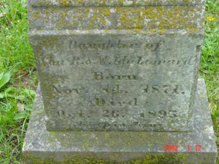 LEONARD, DAUGHTER - Talbot County, Maryland   DAUGHTER LEONARD - Maryland Gravestone Photos