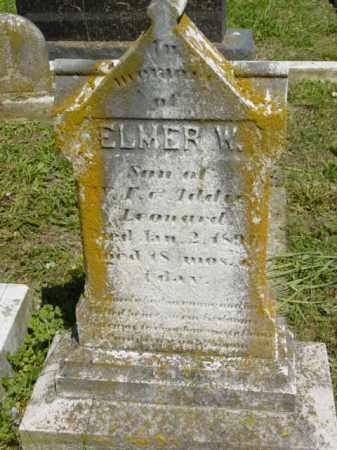 LEONARD, ELMER W. - Talbot County, Maryland   ELMER W. LEONARD - Maryland Gravestone Photos