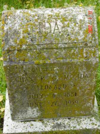 LEONARD, IDA - Talbot County, Maryland | IDA LEONARD - Maryland Gravestone Photos