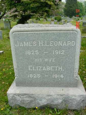 LEONARD, JAMES H. - Talbot County, Maryland | JAMES H. LEONARD - Maryland Gravestone Photos