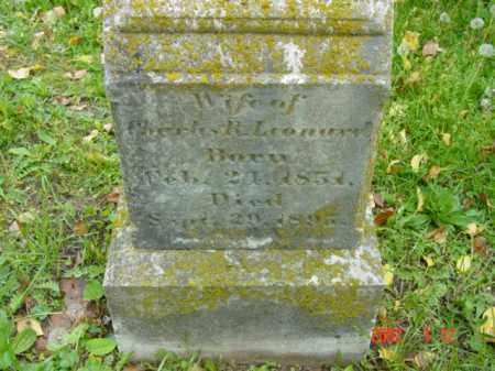 LEONARD, MARY IDA - Talbot County, Maryland | MARY IDA LEONARD - Maryland Gravestone Photos
