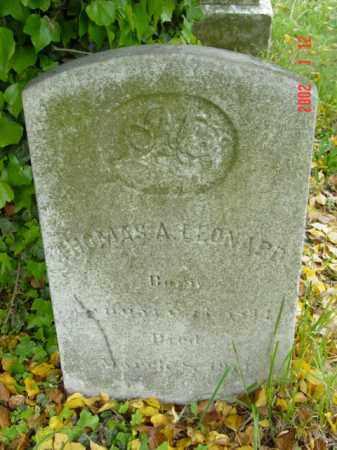LEONARD, THOMAS A. - Talbot County, Maryland | THOMAS A. LEONARD - Maryland Gravestone Photos