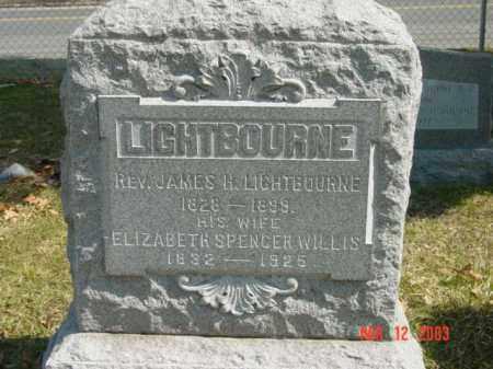 LIGHTBOURNE, ELIZABETH SPENCER - Talbot County, Maryland | ELIZABETH SPENCER LIGHTBOURNE - Maryland Gravestone Photos