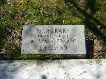 LITTLETON, OUR BABY - Talbot County, Maryland | OUR BABY LITTLETON - Maryland Gravestone Photos