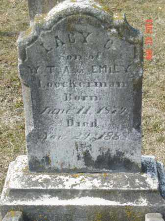 LOCKERMAN, LACY C. - Talbot County, Maryland | LACY C. LOCKERMAN - Maryland Gravestone Photos