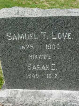 LOVE, SAMUEL T. - Talbot County, Maryland | SAMUEL T. LOVE - Maryland Gravestone Photos