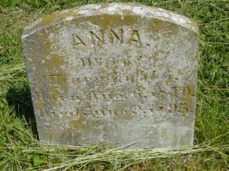 LUBBA, ANNA - Talbot County, Maryland | ANNA LUBBA - Maryland Gravestone Photos