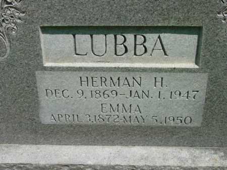 LUBBA, EMMA - Talbot County, Maryland | EMMA LUBBA - Maryland Gravestone Photos