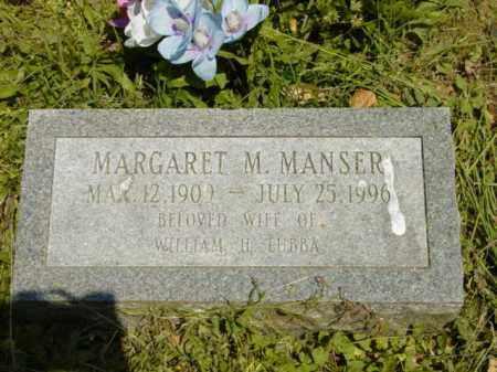 MANSER LUBBA, MARGARET M. - Talbot County, Maryland   MARGARET M. MANSER LUBBA - Maryland Gravestone Photos