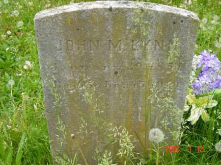 LYNN, JOHN M. - Talbot County, Maryland | JOHN M. LYNN - Maryland Gravestone Photos