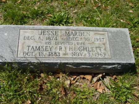MARDEN, TAMSEY R. - Talbot County, Maryland | TAMSEY R. MARDEN - Maryland Gravestone Photos