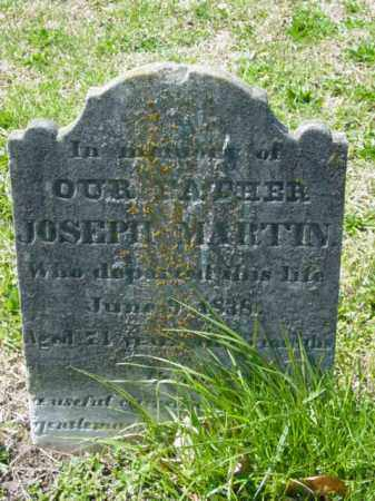 MARTIN, JOSEPH - Talbot County, Maryland | JOSEPH MARTIN - Maryland Gravestone Photos