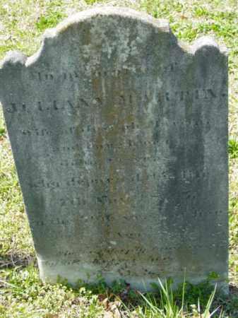 MARTIN, JULIANA - Talbot County, Maryland   JULIANA MARTIN - Maryland Gravestone Photos