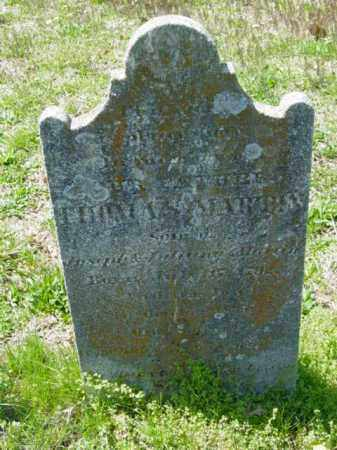MARTIN, THOMAS - Talbot County, Maryland | THOMAS MARTIN - Maryland Gravestone Photos