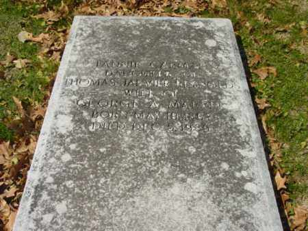 MARVEL, FANNY C. - Talbot County, Maryland | FANNY C. MARVEL - Maryland Gravestone Photos