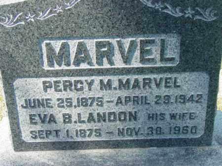 MARVEL, PERCY M. - Talbot County, Maryland | PERCY M. MARVEL - Maryland Gravestone Photos