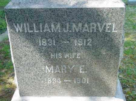 MARVEL, WILLIAM J. - Talbot County, Maryland | WILLIAM J. MARVEL - Maryland Gravestone Photos