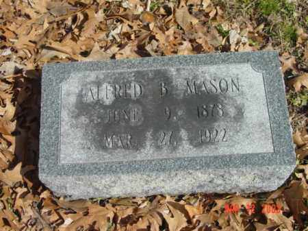 MASON, ALFRED B. - Talbot County, Maryland | ALFRED B. MASON - Maryland Gravestone Photos