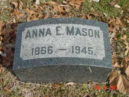 MASON, ANNA E. - Talbot County, Maryland | ANNA E. MASON - Maryland Gravestone Photos