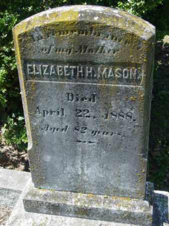 MASON, ELIZABETH - Talbot County, Maryland | ELIZABETH MASON - Maryland Gravestone Photos