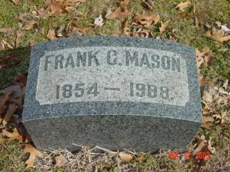 MASON, FRANK C. - Talbot County, Maryland | FRANK C. MASON - Maryland Gravestone Photos