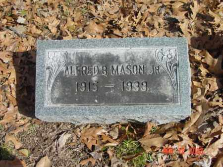 MASON JR., ALFRED B. - Talbot County, Maryland | ALFRED B. MASON JR. - Maryland Gravestone Photos