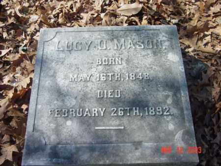 MASON, LUCY O. - Talbot County, Maryland | LUCY O. MASON - Maryland Gravestone Photos