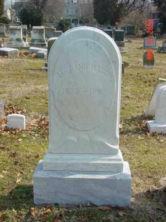 MASON, MARY ANN - Talbot County, Maryland | MARY ANN MASON - Maryland Gravestone Photos