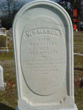 MASON, WILLIAM - Talbot County, Maryland   WILLIAM MASON - Maryland Gravestone Photos