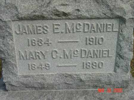 MCDANIEL, JAMES E. - Talbot County, Maryland | JAMES E. MCDANIEL - Maryland Gravestone Photos