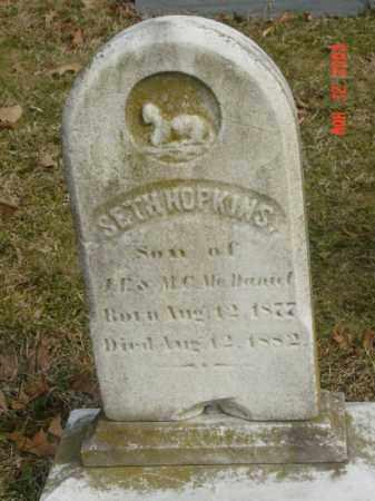 MCDANIEL, SETH HOPKINS - Talbot County, Maryland   SETH HOPKINS MCDANIEL - Maryland Gravestone Photos