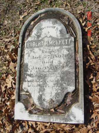 MCKNETT, ROBERT H. - Talbot County, Maryland   ROBERT H. MCKNETT - Maryland Gravestone Photos