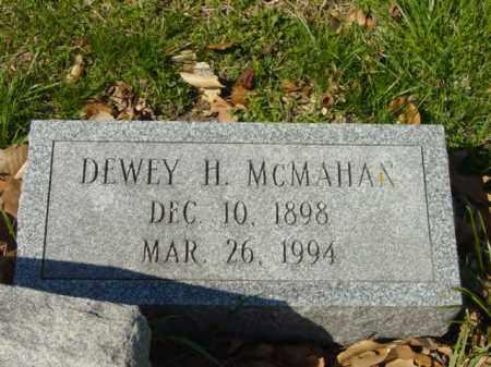 MCMAHAN, DEWEY H. - Talbot County, Maryland   DEWEY H. MCMAHAN - Maryland Gravestone Photos