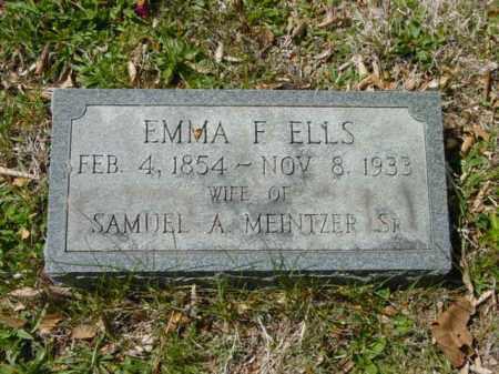 MEINTZER, EMMA F. - Talbot County, Maryland   EMMA F. MEINTZER - Maryland Gravestone Photos