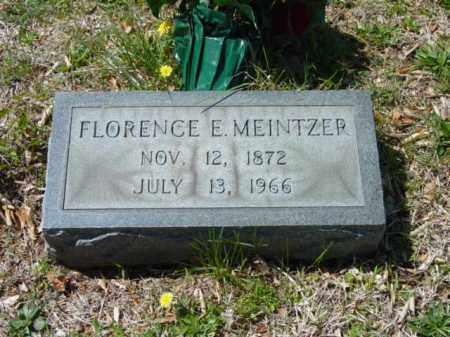 MEINTZER, FLORENCE E. - Talbot County, Maryland | FLORENCE E. MEINTZER - Maryland Gravestone Photos
