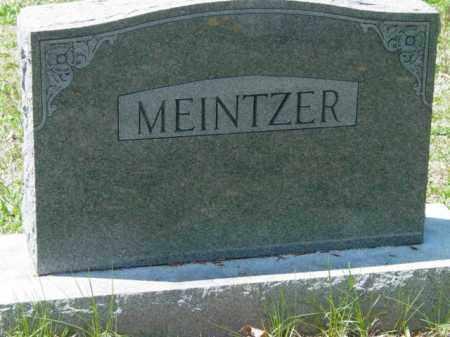MEINTZER, MOUNMENT - Talbot County, Maryland   MOUNMENT MEINTZER - Maryland Gravestone Photos