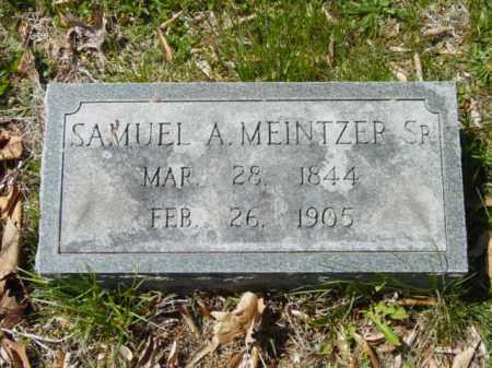 MEINTZER, SR., SAMUEL A. - Talbot County, Maryland | SAMUEL A. MEINTZER, SR. - Maryland Gravestone Photos