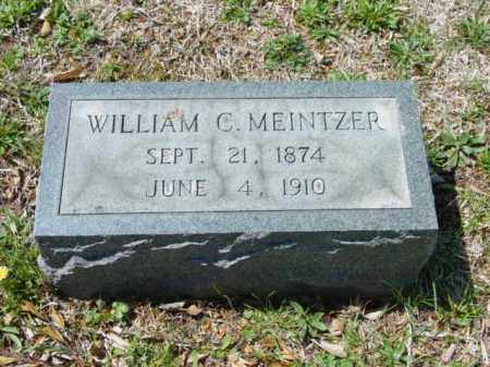 MEINTZER, WILLIAM C. - Talbot County, Maryland | WILLIAM C. MEINTZER - Maryland Gravestone Photos