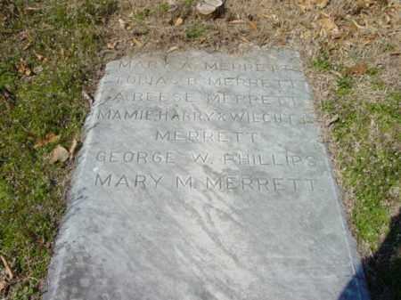 MERRETT, MARY M. - Talbot County, Maryland | MARY M. MERRETT - Maryland Gravestone Photos