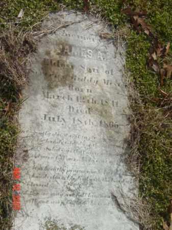 MEST--, JAMES A. - Talbot County, Maryland   JAMES A. MEST-- - Maryland Gravestone Photos