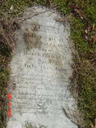 MEST--, JAMES A. - Talbot County, Maryland | JAMES A. MEST-- - Maryland Gravestone Photos