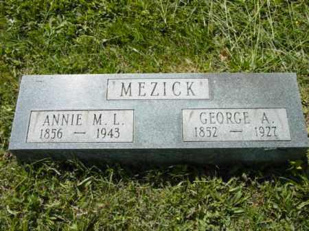 MEZICK, GEORGE A. - Talbot County, Maryland   GEORGE A. MEZICK - Maryland Gravestone Photos