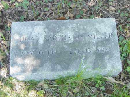 MILLER, EDGAR SARTORIUS - Talbot County, Maryland | EDGAR SARTORIUS MILLER - Maryland Gravestone Photos