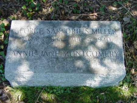 MILLER, ANNIE JANE - Talbot County, Maryland | ANNIE JANE MILLER - Maryland Gravestone Photos