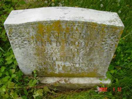 MOORE, JOHN D. - Talbot County, Maryland | JOHN D. MOORE - Maryland Gravestone Photos