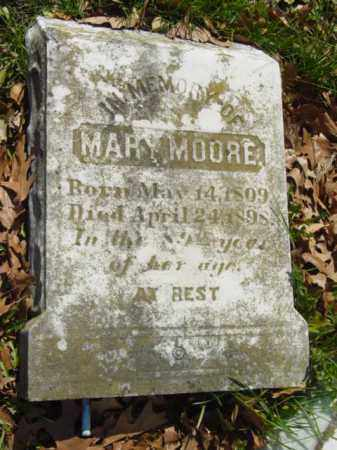 MOORE, MARY - Talbot County, Maryland | MARY MOORE - Maryland Gravestone Photos