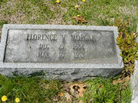 MORGAN, FLORENCE V. - Talbot County, Maryland   FLORENCE V. MORGAN - Maryland Gravestone Photos