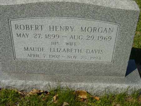 MORGAN, ROBERT HENRY - Talbot County, Maryland | ROBERT HENRY MORGAN - Maryland Gravestone Photos