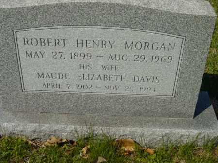 MORGAN, ROBERT HENRY - Talbot County, Maryland | ROBERT HENRY MORGAN - Maryland Gravestone Photos