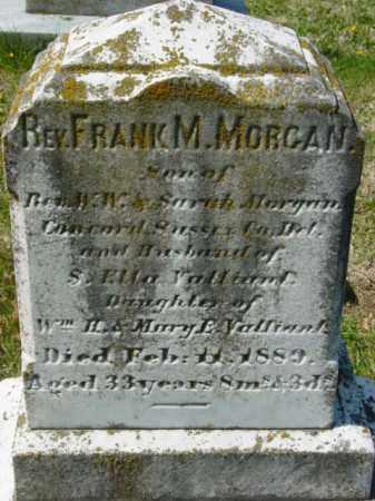 MORGAN, REV FRANK M. - Talbot County, Maryland   REV FRANK M. MORGAN - Maryland Gravestone Photos